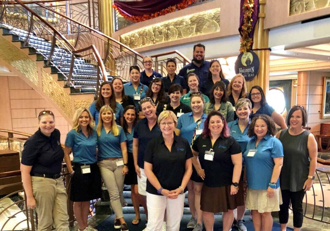 MEET Team or Join Team Group Pic on ship